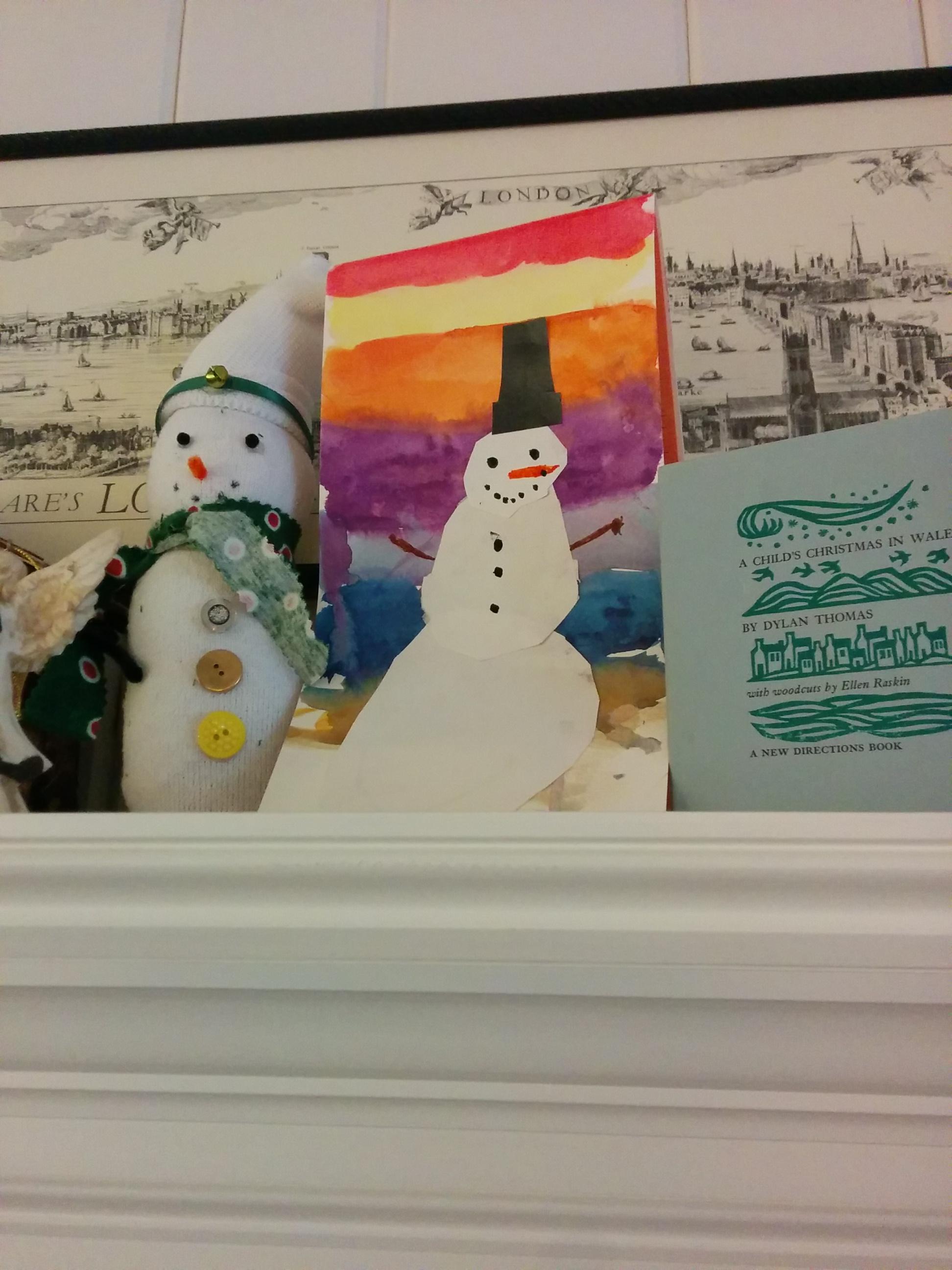 henry's snowman gift